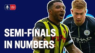 FOUR Big Teams & ONE Epic Comeback | Semi-Finals in Numbers | Emirates FA Cup 18/19