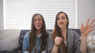 Backwards Word/Portrait Challenge! | Gardiner Sisters