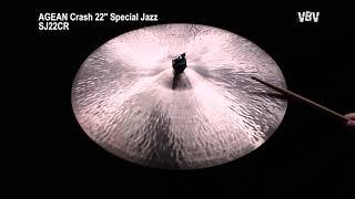 "22"" Crash Special Jazz video"