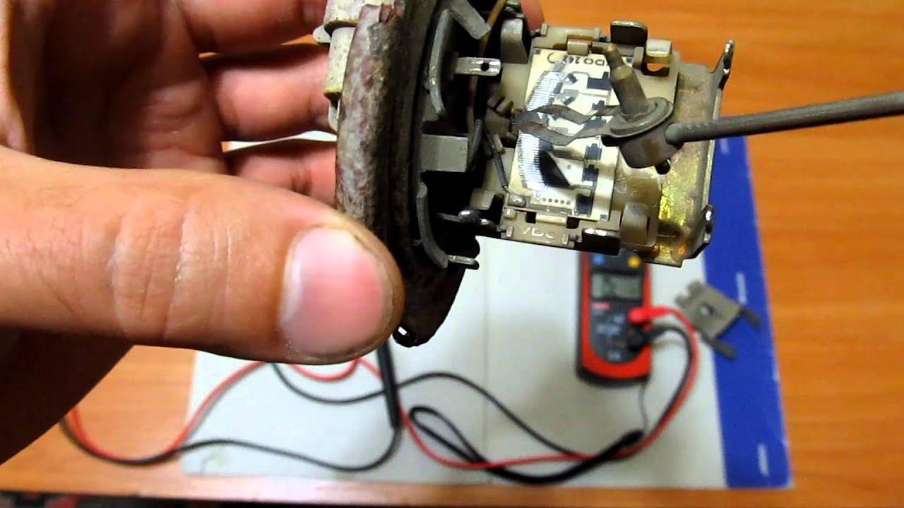 Ремонт датчика уровня топлива.