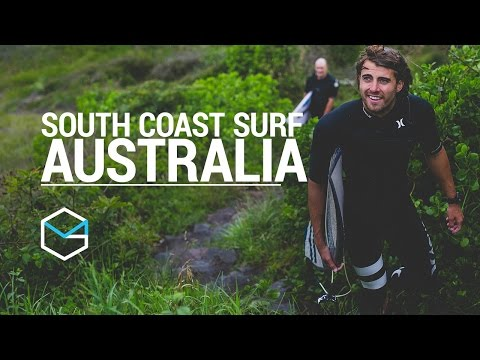Surfing The South Coast Of Australia - Travel Vlog EP1