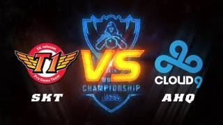 01102016 highlights skt vs c9 vong bang cktg2016