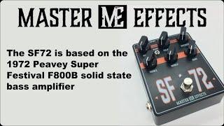 Master Effects - SF72 - Peavey Super Festival F800B in a box!