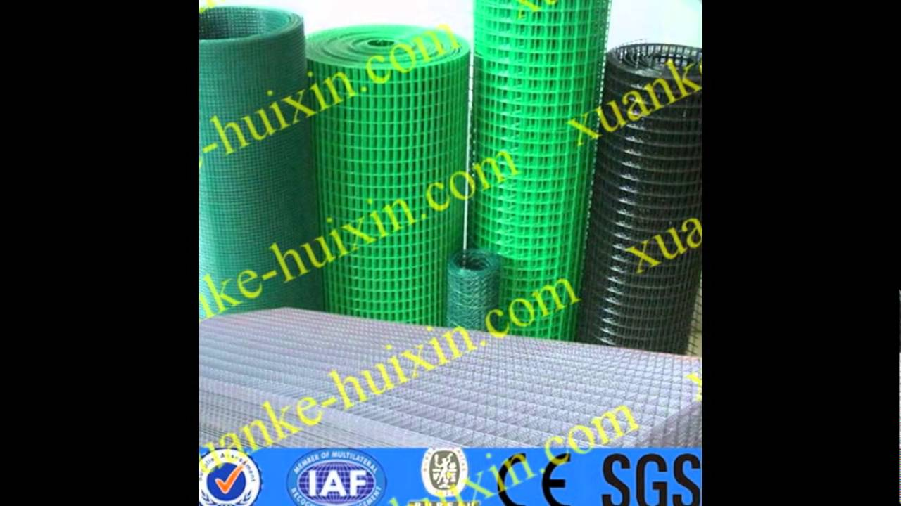 Vinyl coated wire mesh,PVC powder coated welded wire mesh panel ...