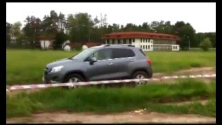 Test Drive Off Road com o Chevrolet Tracker