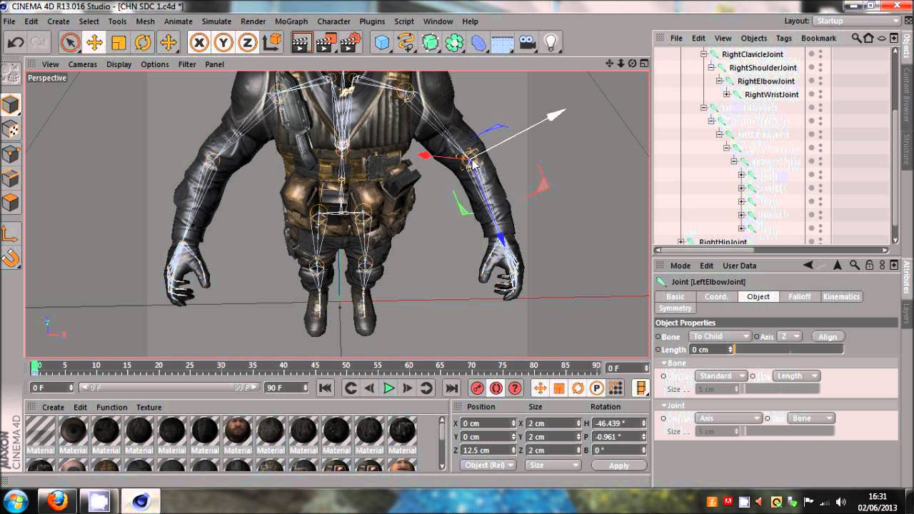 Cinema 4d | adding joints and weights to an existing rig lesterbanks.