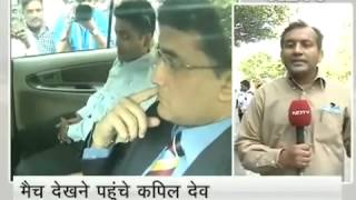 सचिन को विदाई देने पहुंचे दिग्गज Video  NDTV c