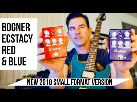 2018 BOGNER ECSTACY RED AND BLUE OD'S! Demo by Pete Thorn