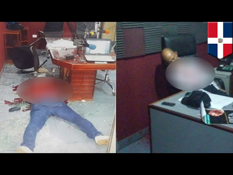 Dominican Republic shooting: Radio journalists gunned down d