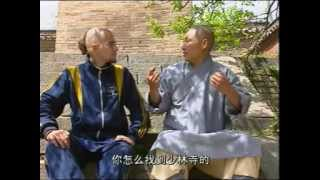 The foreign diciple in Shaolin temple