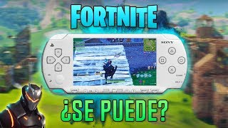 ¿Fortnite en PSP? ¿Es posible?   PSPDisp   HD   luigi2498