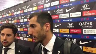 """Roma-Lecce, Mkhitaryan: """"Ora sto bene e voglio aiutare la squadra"""""""