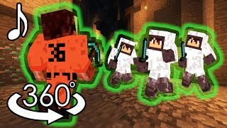 'No Control' - Minecraft 360° Music Video - ORIGINAL SONG