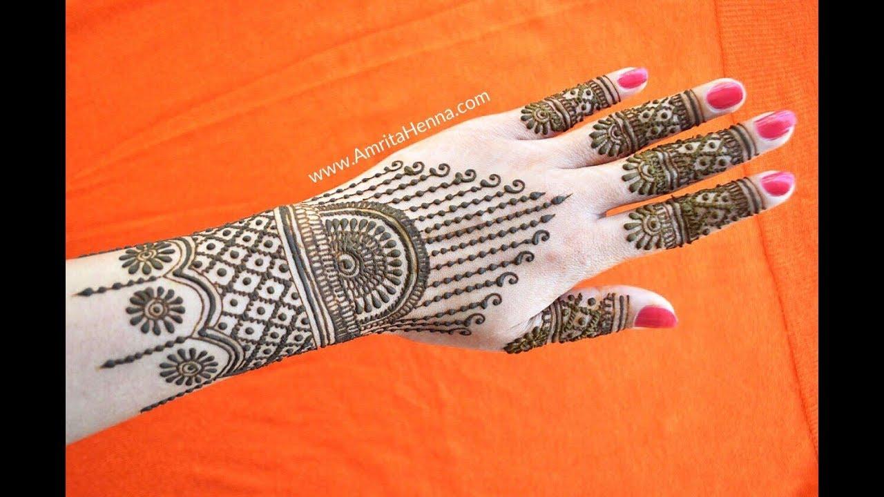 Fashionable Mehndi Design Attractive Stylish Trendy Henna Mehendi For You Youtube
