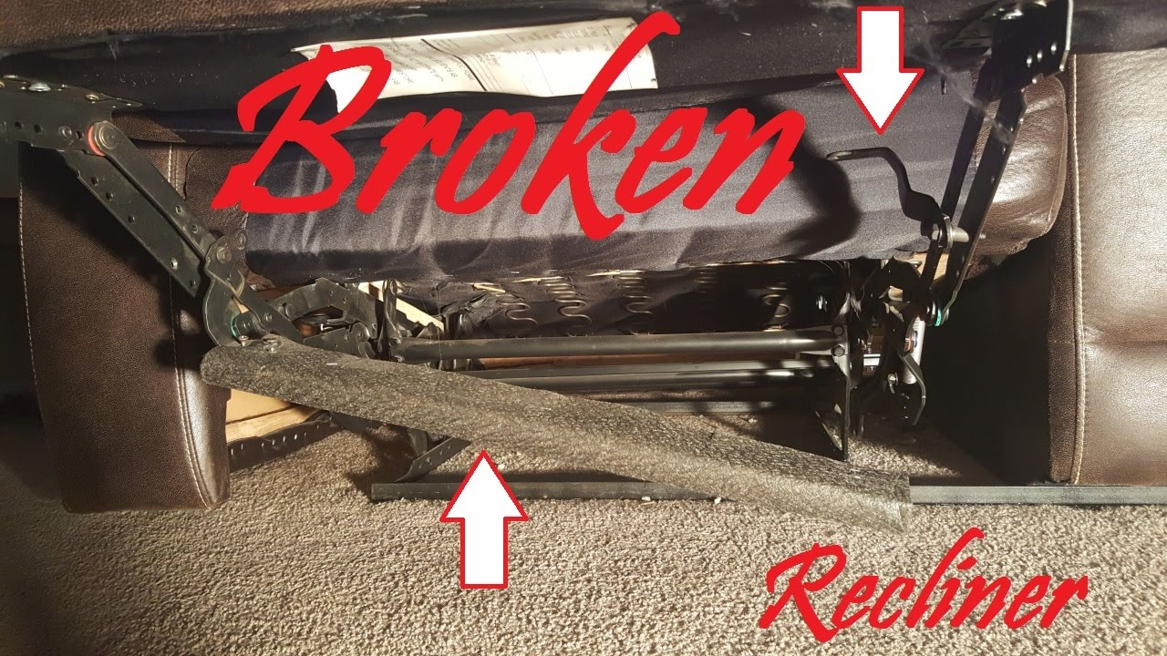 How to Fix a Couch Recliner Broken Support DIY Video!!! & How to Fix a Couch Recliner Broken Support DIY Video!!! - YouTube islam-shia.org