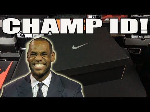 Championship Edition! NikeiD Unboxing: Lebron 10 Soldier Limited