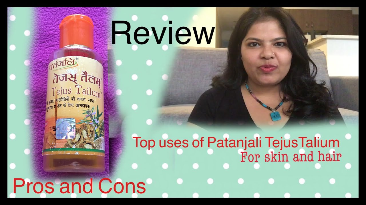PATANJALI TEJUS TAILUM Oil/ USES for FACE HAIR, REVIEW, BENEFITS /Indian  MOM in AUStralia