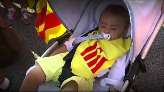 TV3 - Telenotícies - Les millors imatges de la Diada del Tricentenari