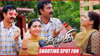Naayagi Shooting Spot | Nakshathra Fun with Krishna | Behind the Scenes
