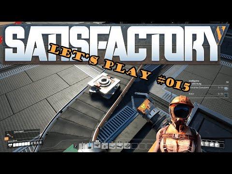 Satisfactory Let's Play #015 - Intelligent beschichten