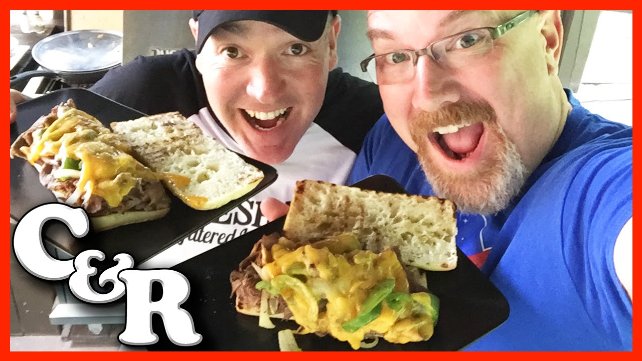 Philly Cheese Steak on the BBQ Recipe - Cook & Review Ep #14