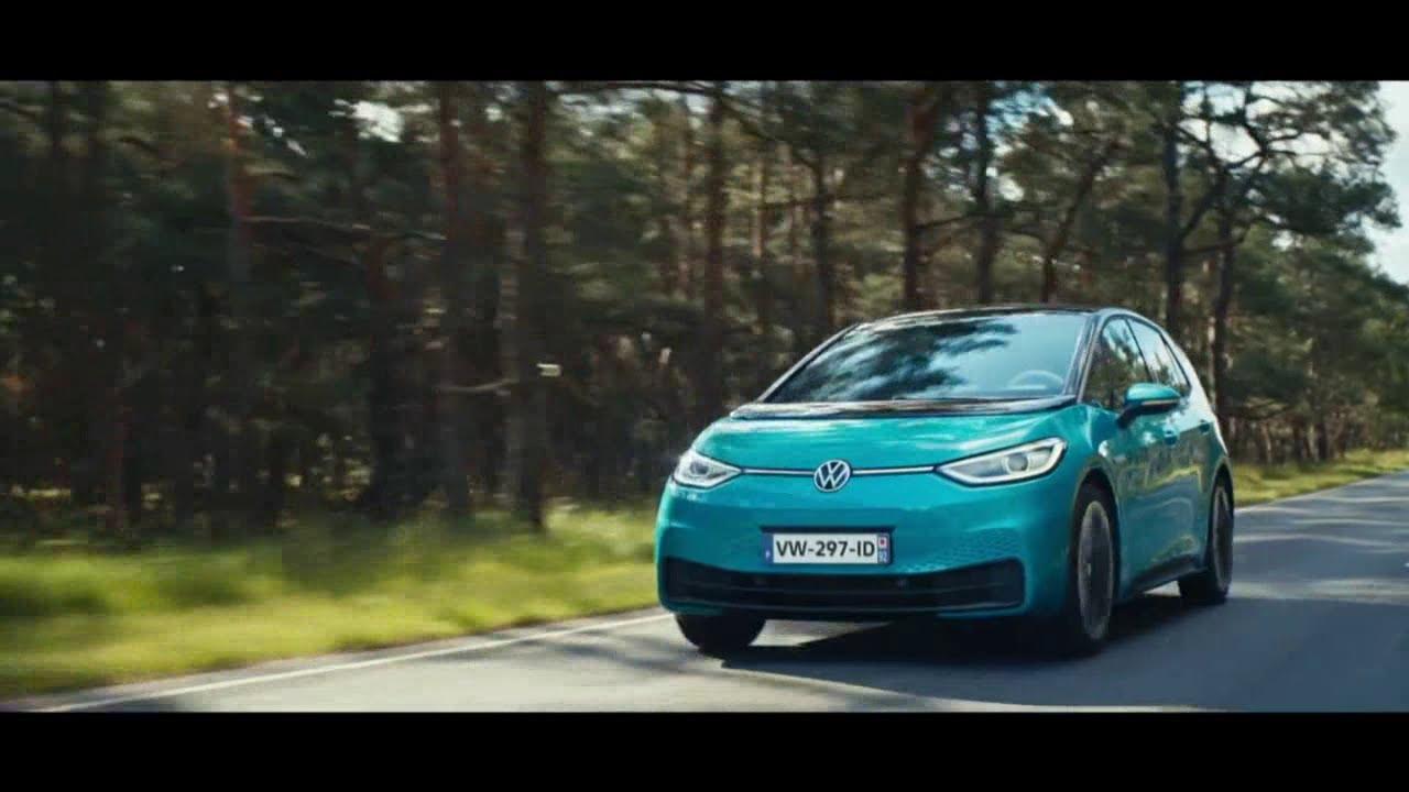 """Musique de la pub Nouvelle ID.3 Volkswagen """"100% électrique, vous pouvez être fier""""  Mai 2021"""