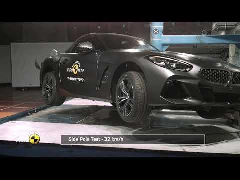 Euro NCAP Crash & Safety Tests of BMW Z4 2019