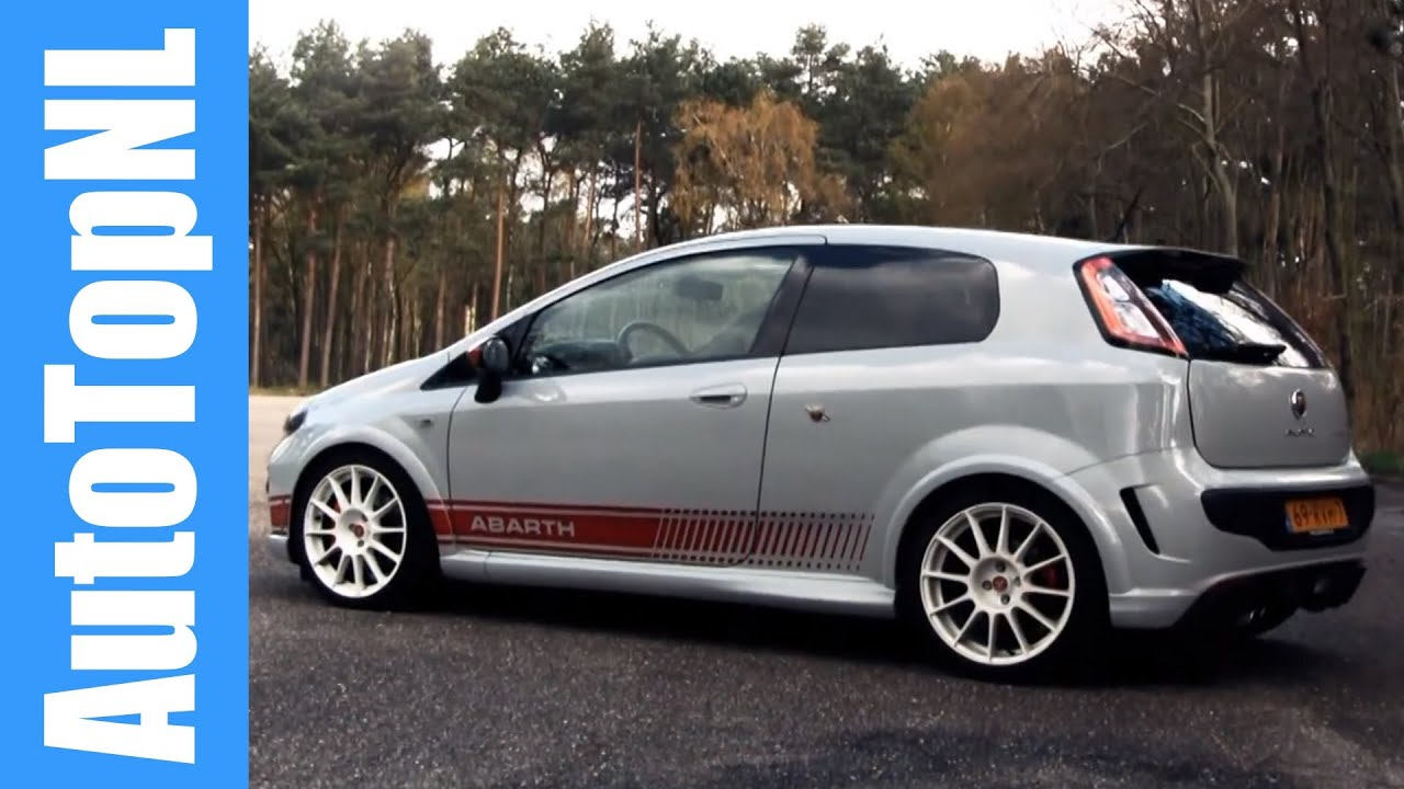 Abarth Punto Evo Esseesse SS - AutoTopNL - YouTube