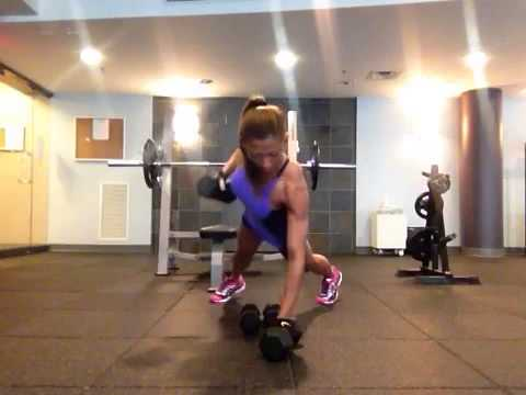 shoulder chest back and core workout  cardio and