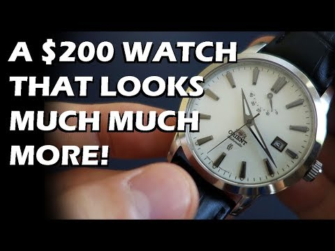 Orient Curator Automatic Dress Watch Review (FD0J004W) - Perth WAtch #9