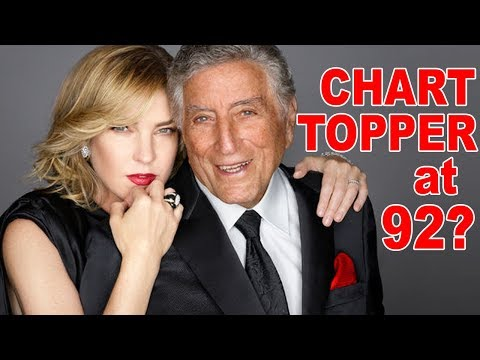 Will Tony Bennett Hit Number One Again At Age 92? New Album with Diana Krall!