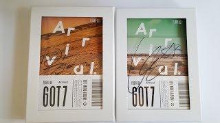 Unboxing  |  got7 flight log arrival mwave signed albums (2nd press)