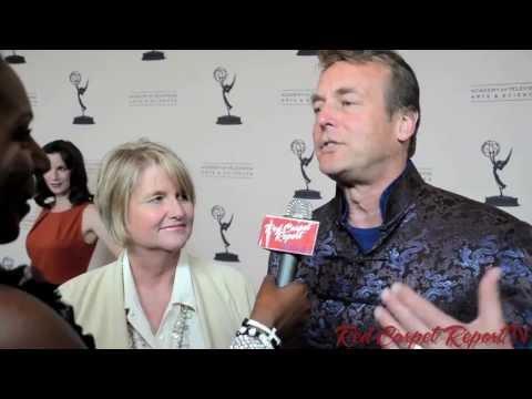Doug Davidson & Cindy Fisher at 40th Annual Daytime Emmy Awards Nominee Reception @DougDavidsonYR