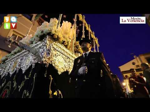 Salida de María Santísima de la Esperanza Semana Santa Algeciras 2019 Martes Santo