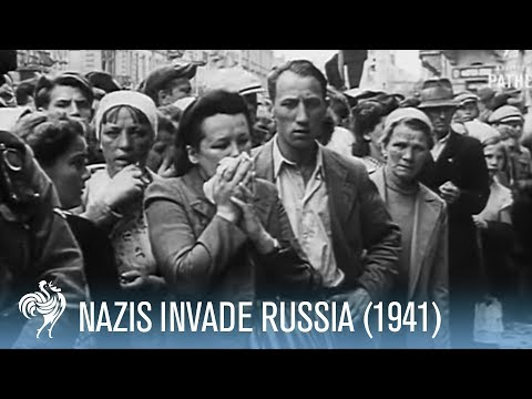 Nazi Germany Invades Russia: Battle Footage (1941) | War Archives