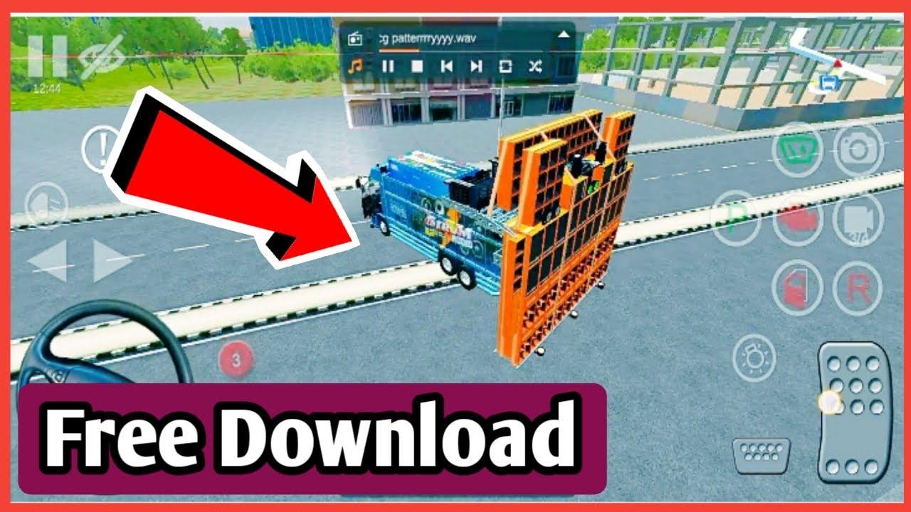 How to download dj truck game | Bus Simulator indonesia dj truck mod download | डीजे वाला गेम