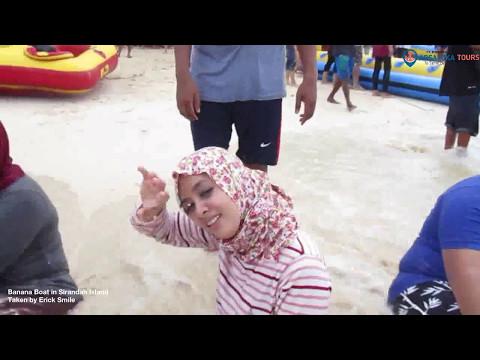 Menikmati Wahana Permainan di Sirandah Island - Karyawan BSM LoeBas Padang - Arsaloka Tours Part 3
