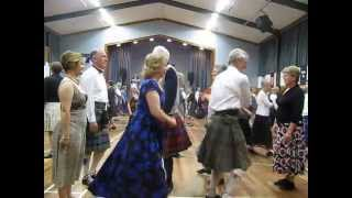 Culla Bay-Lower Hutt Scottish Country Dance Club on its 60th Dance anniversary Sept. 23, 2014