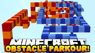 Minecraft OBSTACLE COURSE PARKOUR 2! (Epic Map!) w/ PrestonPlayz
