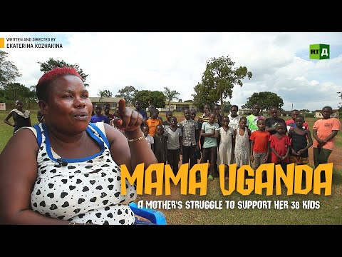Mama Uganda. A Mother's struggle to support her 38 kids