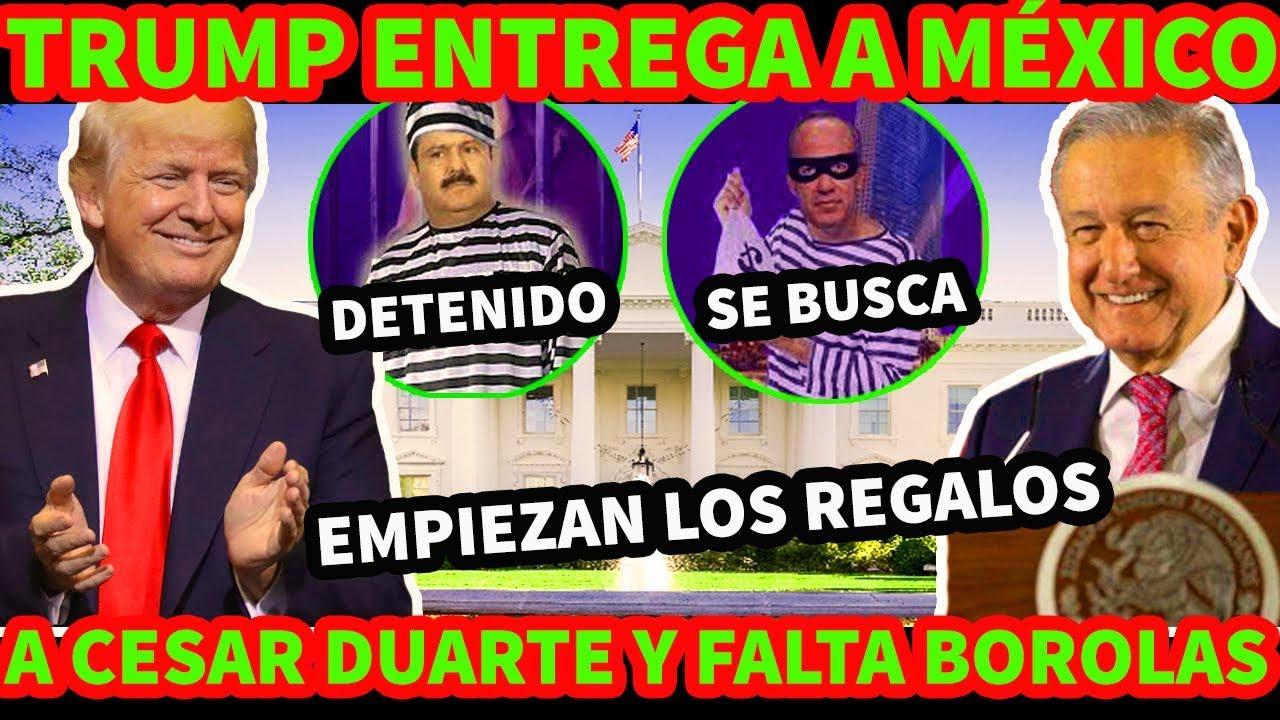 ¡ VAYA SORPRESA DE TRU. MP PARA MEXICO ! ENCUENTRAN A CESAR DUARTE EN MIAMI YA LO ESPERA LA FGR