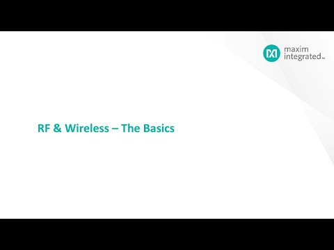 Fundamentals Of RF And Wireless Communications