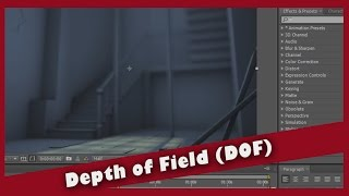 Depth of Field in Maya/After Effects