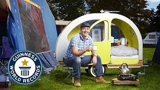 The world's smallest caravan - Guinness World Records 2015