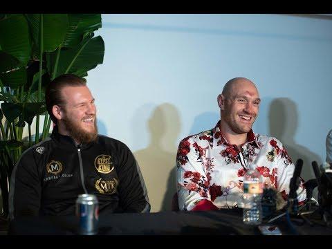 Surprise press conference in full   Tyson Fury, Frank Warren, Ben Davison