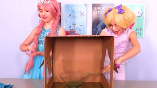 What's In The Box Messy Challenge and more Kiddyzuzaa 👑Princesses in Real Life