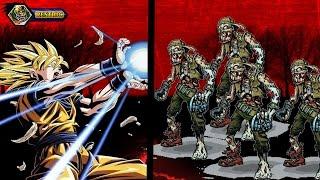 Goku en el apocalipsis zombie C.Z.7