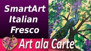 Smart Art Trying out Italian Fresco