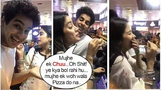 Jhanvi Kapoor's Most EMBARRASSING Moment Ordering Pizza In Public After Dhadak Promotions