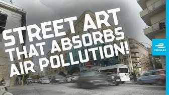 Art Meets Tech | This Graffiti In Rome Cleans The Air Around It!